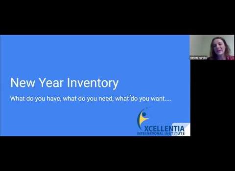 New year inventory
